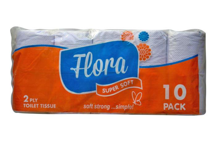 Flora Toilet Tissue