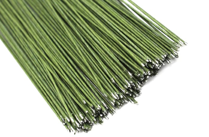 Flexible Floral Wire  Green