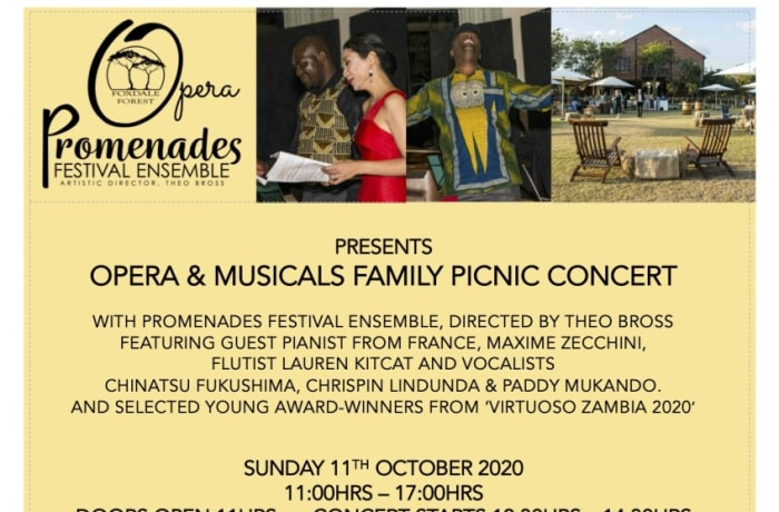 Foxdale Court Design Market & Foxdale Forest Opera and Musicals Picnic Concert image