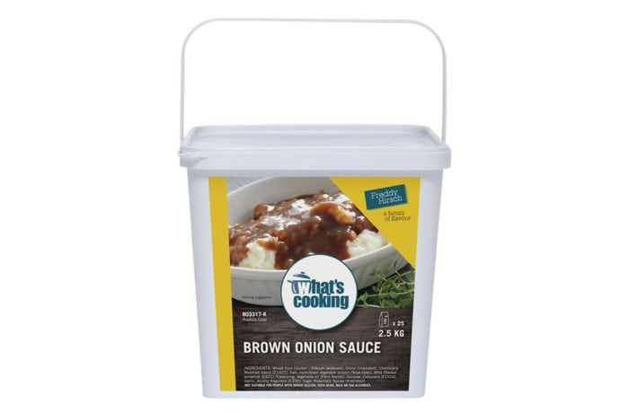 Sauces - What's Cooking Brown Onion Sauce Tub
