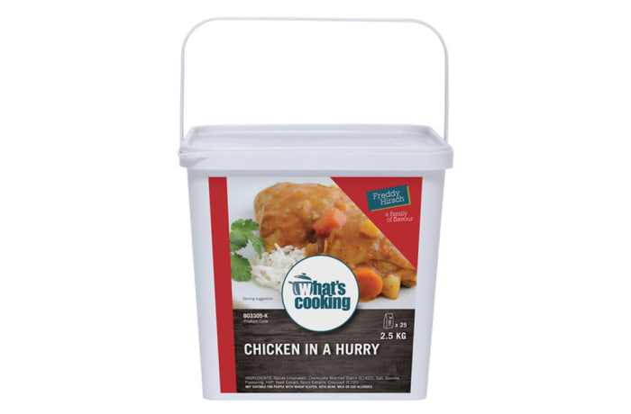 Curries - What's Cooking Chicken In A Hurry Tub