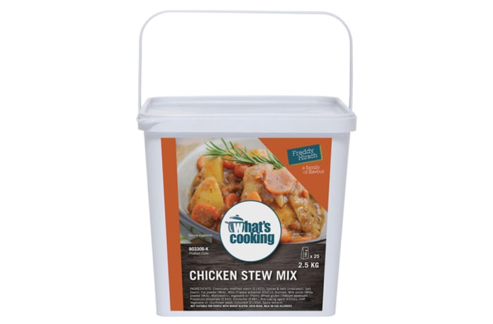 Stews - What's Cooking Chicken Stew Mix Tub