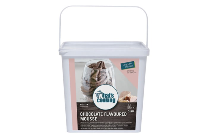 Desserts & Beverages - What's Cooking Chocolate Flavoured Mousse Tub