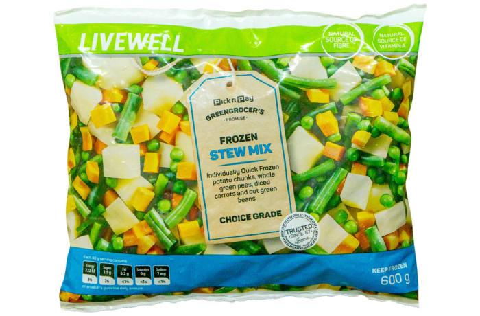 Frozen Stew Mix 600g