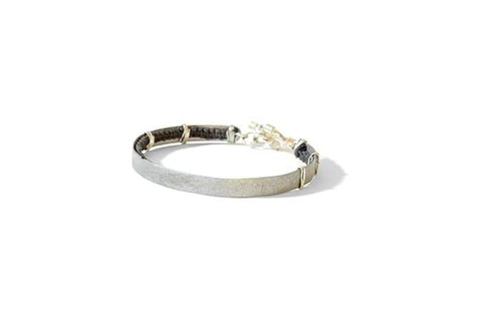 Full hammered bracelet