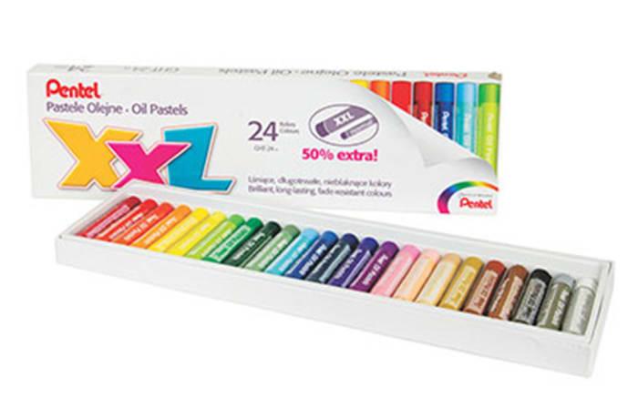 GHT-24 Pental XXL Oil Pastel