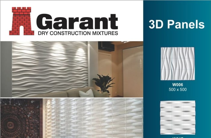 Refurbish your wall for a modern appeal with 3D panels image
