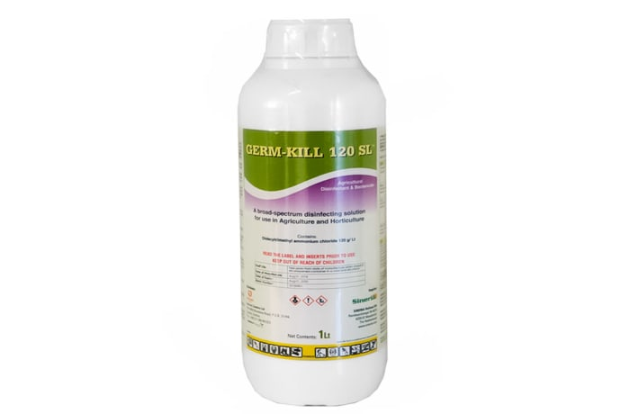 Germ-Kill  120 Sl Broad-Spectrum Agricultural Disinfectant & Bactericide