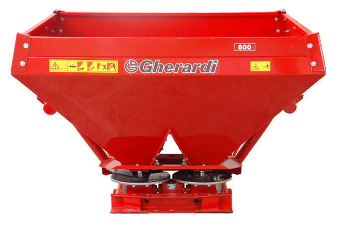 Gherhardi fertilizer spreader