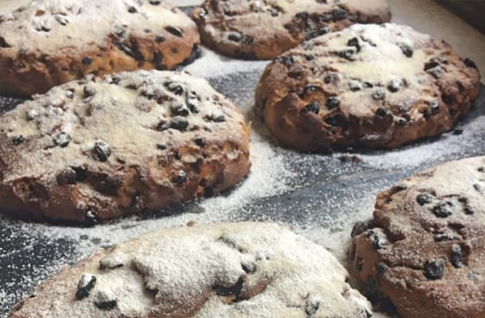 Gluten-free Stollen with Marzipan