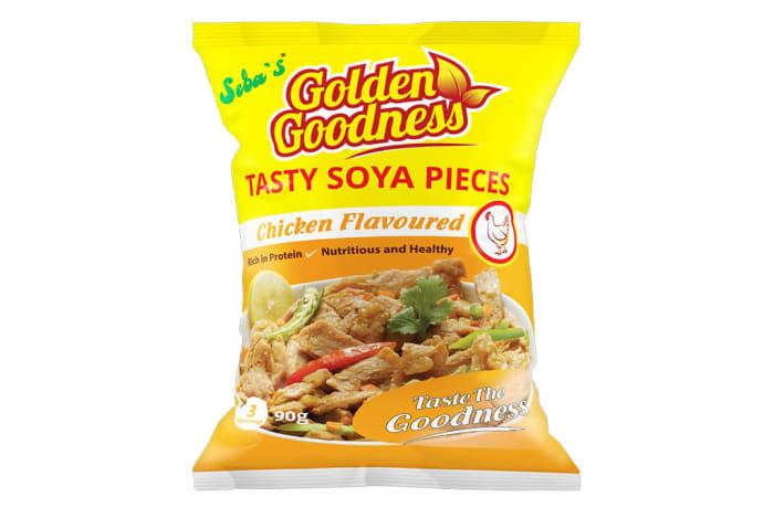 Golden Goodness   Tasty Soya Pieces Chicken  20 X 90g