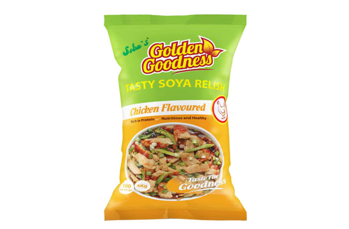 Golden Goodness - Tasty Soya Relish Chicken Flavoured  4 x 4kg (100 Portions)