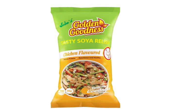 Golden Goodness Soya Relish 4kg - Chicken flavoured