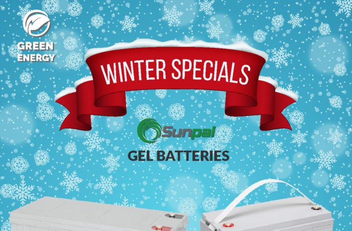 Sunpal Gel Batteries on special offer image