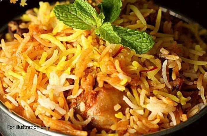 Special - Hyderabadi Chicken Dum Biryani
