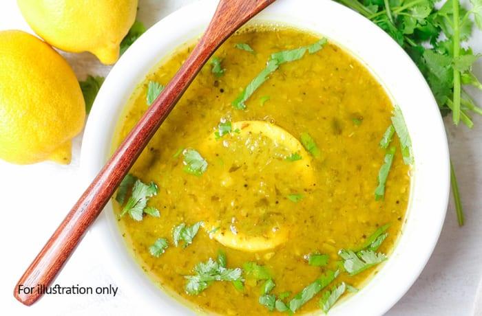 Chinese Cuisine - Lemon & Coriander Hot & Sour Vegetable Soup