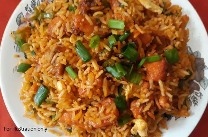 Rice - Chicken Schezwan Rice