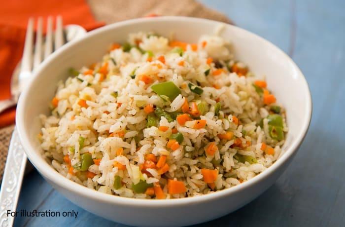 Milile Wedding Option 4 - Accompaniments - Vegetable Fried Rice