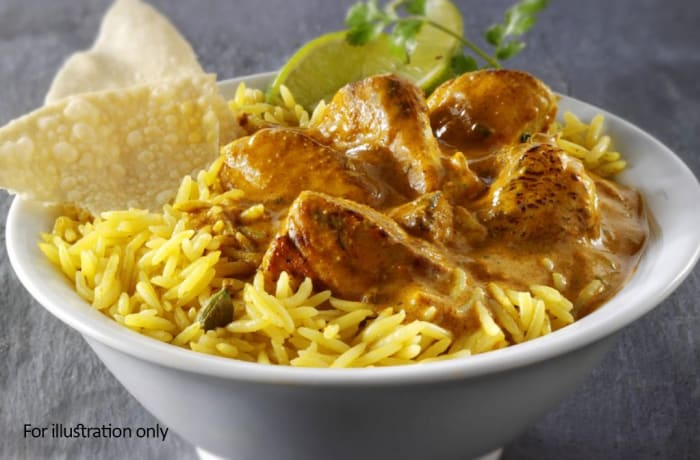 Tawa Menu - Bhuna Rice