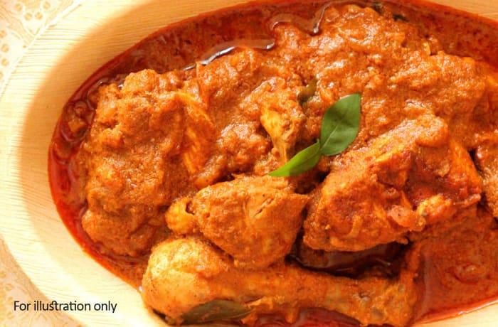 Tawa Menu - Chicken Kashmiri