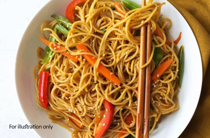 Tawa Menu - Vegetarian Chilli Garlic Noodles