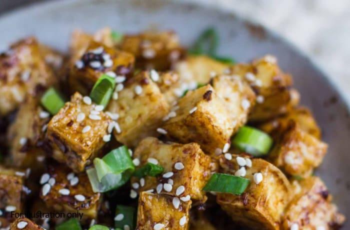 Vegetarian - Sesame Garlic Paneer