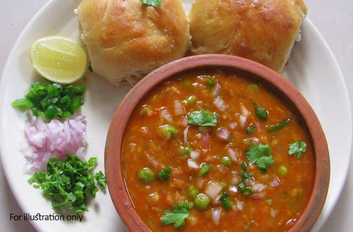 the snacks point -   Pav Bhaji