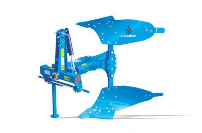 GrowMore Hydraulic Reverible Plough - Single forrow