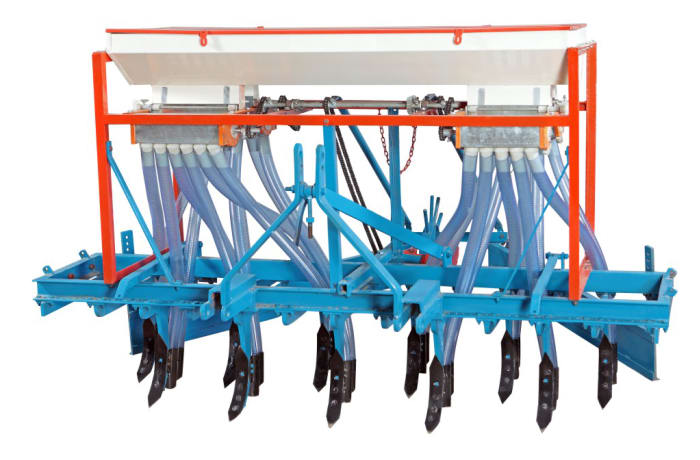 Tractor driven Automatic Seed Drill - Planter