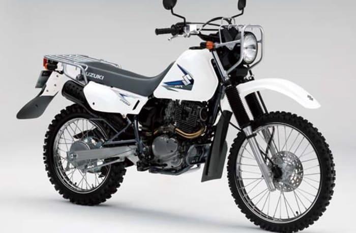 Suzuki DR200SE motorcycle