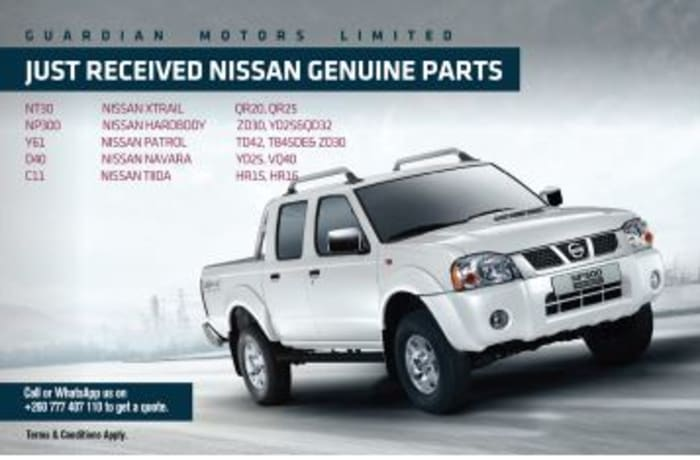 Just arrived!! new Nissan genuine parts image