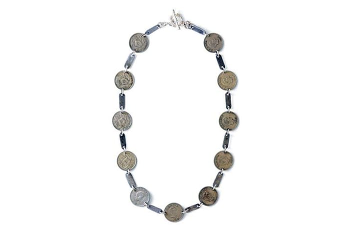 Gypsy & vintage coin necklace  - Classic