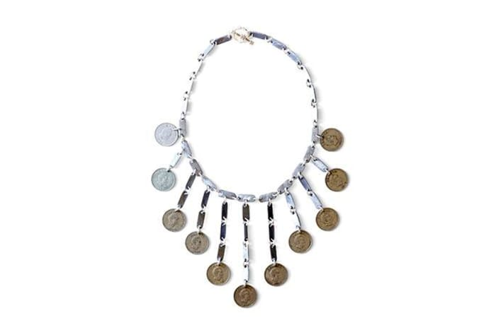 Gypsy & vintage coin necklace  - Statement