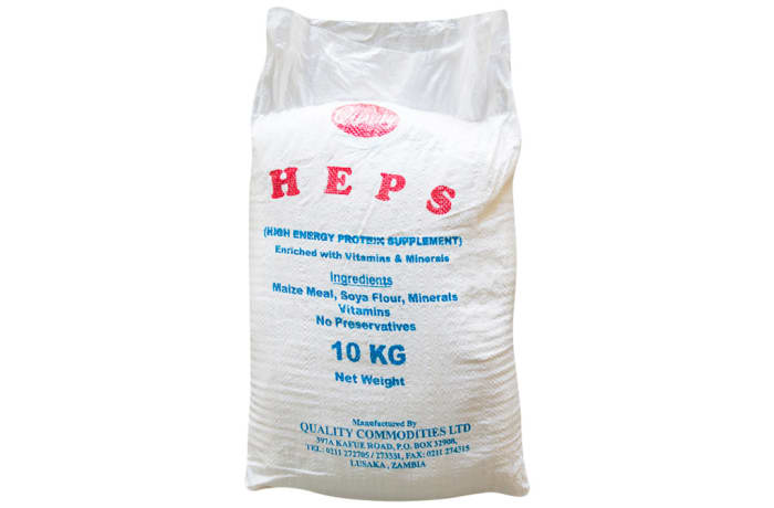 H.E.P.S Fortified High Energy Protein supplement - 10Kg