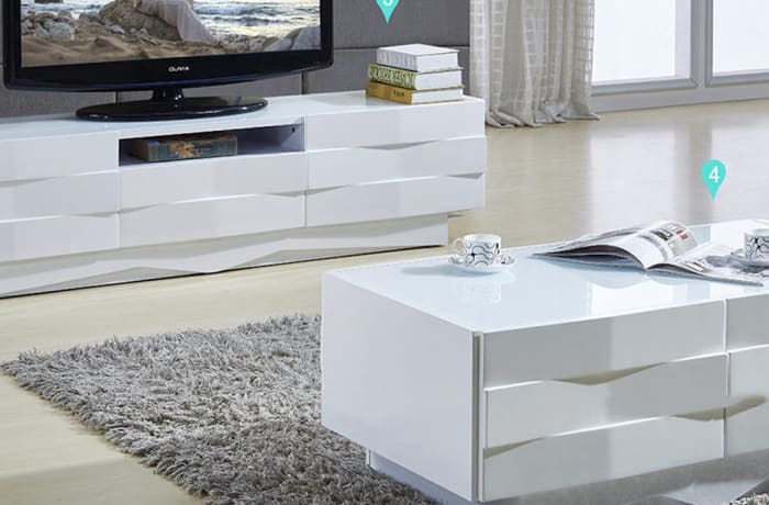 Hall cabinet, Coffee table 6806