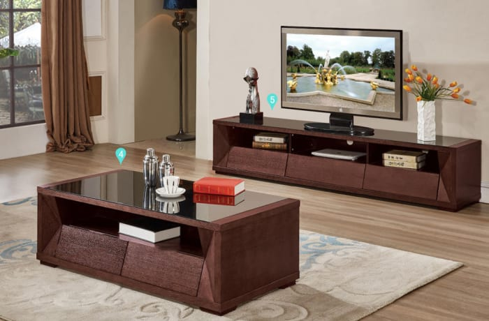 Hall cabinet & Coffee table 6863
