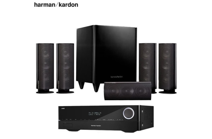 Harman Kardon 30BQ+Harman Kardon 151S Amplifier Audio Speaker 5.1 Home Theater - 1320201