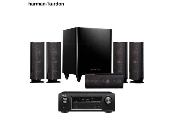 Harman Kardon +Dragon X540 Amplifier Sound Speaker 5.1 Home Theater - HKTS 30BQ