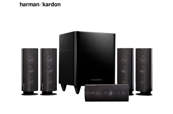 Harman Kardon + Onkyo TX-SR252 Audio Speaker - HKTS 30BQ