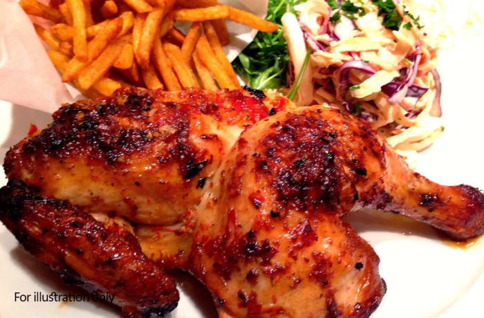 Harry's Grill - Chicken - Half Peri Peri Chicken
