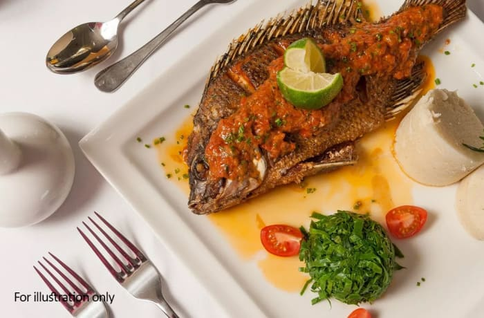 Harry's Grill - Fish / Sea Food - Fried Telapia (500g)