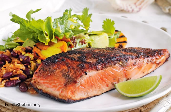 Harry's Grill - Fish / Sea Food - Grilled Salmon (200g)