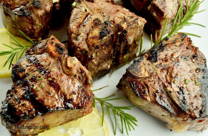 Harry's Grill - Grills - Grilled Lamb Chop - (500g)