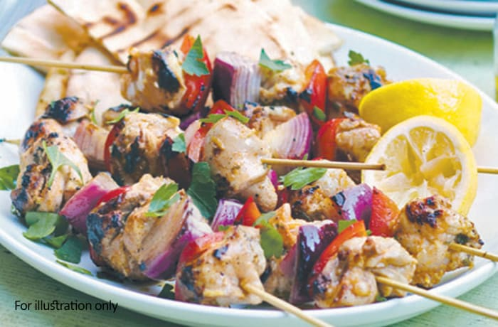 Harry's Grill - Kebabs - Harry's Special Chicken Kebab (400g)