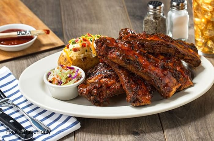 Harry's Grill - Ribs - Beef Ribs full rack