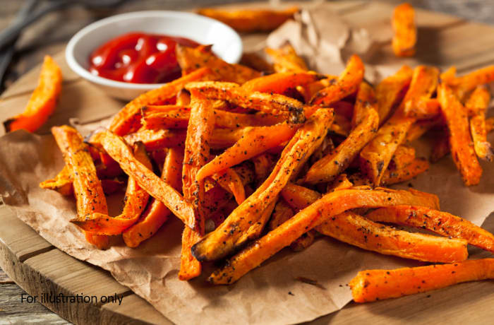 Harry's Grill - Sides - Sweet Potato Fries
