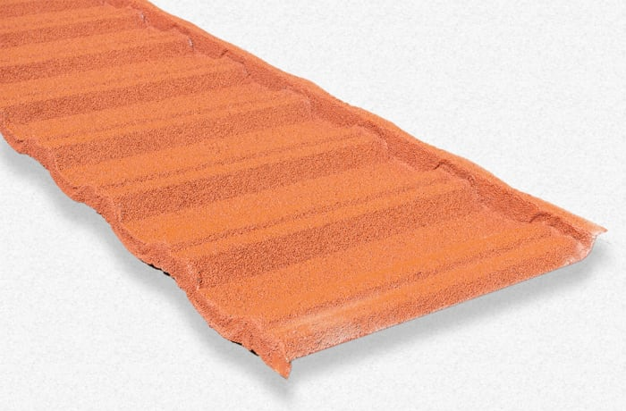 Steel based, maintenance free and environmentally friendly roofing tiles image