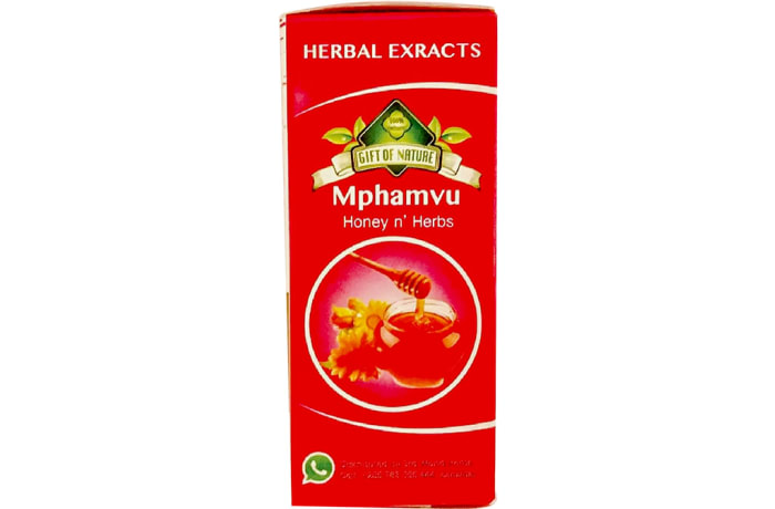Herbal Extracts Gift of Nature Mphamvu Honey & Herbs 250ml