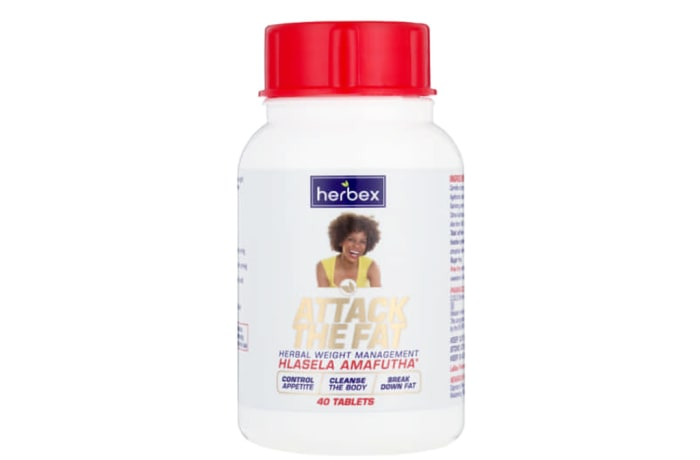 Attack the Fat Hlasela Amafutha  Herbal Weight Management  40 Tablets