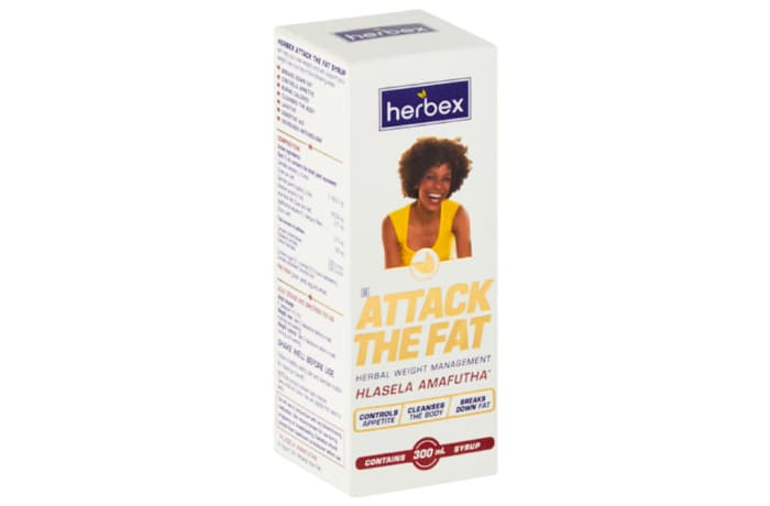 Attack the Fat Hlasela Amafutha  Herbal Weight Management Syrup   300ml